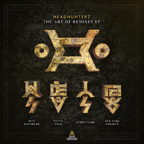 Coverart Headhunterz Art Of Remixes EP 2018
