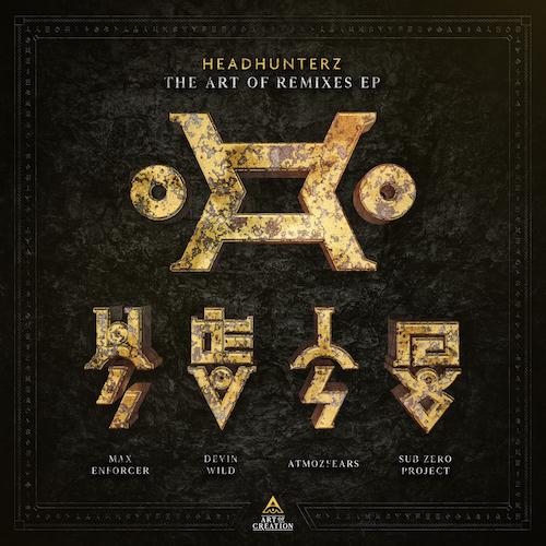 Coverart Headhunterz Art Of Remixes EP 2018