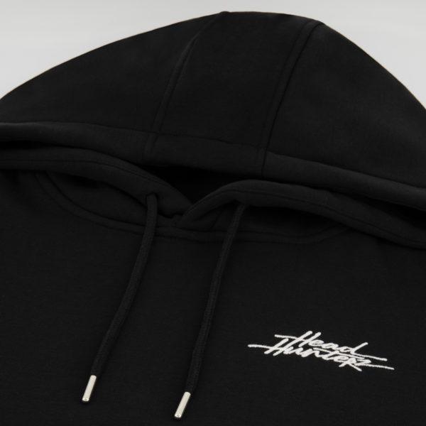 Headhunterz Hoodie black detail